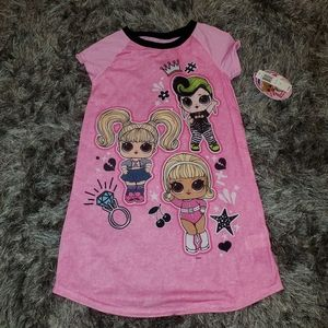 Other - NWT Girl's LOL Nightgown size 8